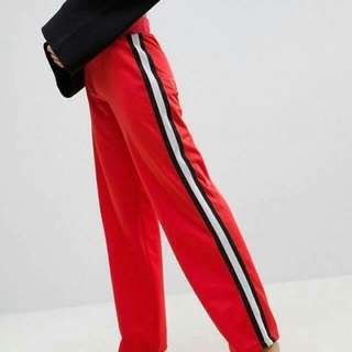 Retro Striped Pants