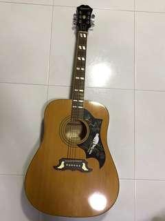 Epiphone Dove Acoustic Guitar