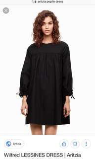 Aritzia Wilfred poplin dress