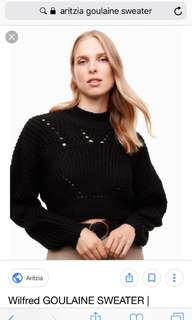 Aritzia Wilfred Goulaine sweater