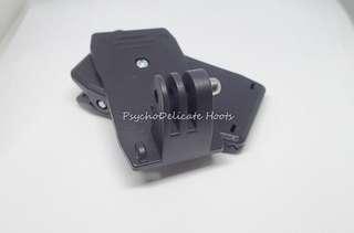 360 degree rotary clip strap or wrist strap for Gopro Hero/SJCAM 4000/5000/SJ6/SJ7 Sport Action Camera