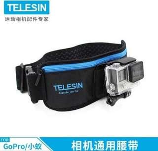 Telesin waist pouch for gopro/sjcam action sport camera