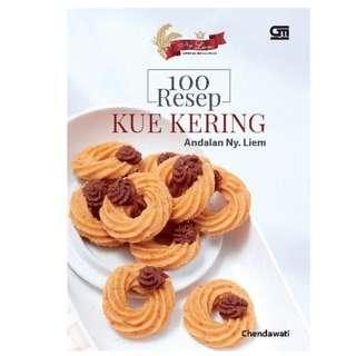 Ebook 100 Resep Kue Kering Andalan Ny.  Liem - Chendawati