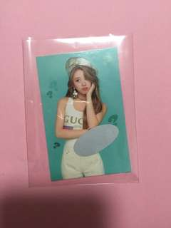 Chaeyoung what is love scratch card