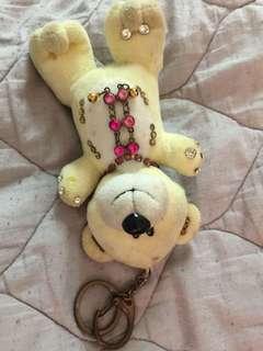 美國帶回🇺🇸小熊🐻鑰匙🔑圈+開運吊飾