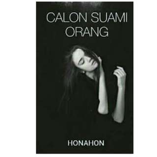 Ebook Calon Suami Orang - Honahon
