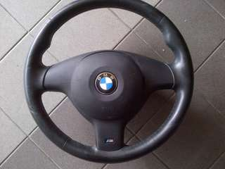 BMW E46 M SPORT STEERING WHEEL WITH AIRBAG