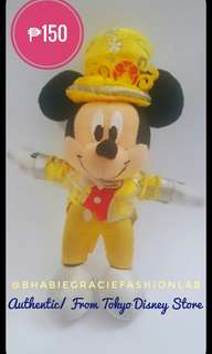 Mickey Mouse Plush Keychain