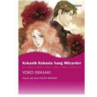 Ebook Kekasih Rahasia Sang Milyarder (The Billionaire Boss's Secretary Bride) - Yoko Iwasaki