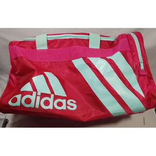 "Adidas Pink Sports Bag 18"" X 11"" X 11"""