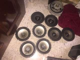 Speaker mohawk punch