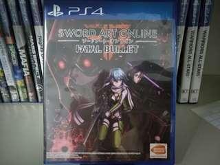 PS4 - Sword Art Online: Fatal Bullet