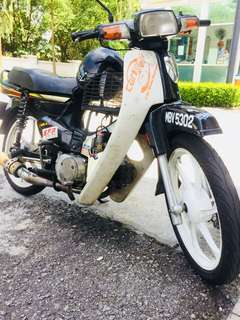honda ex5 dream black