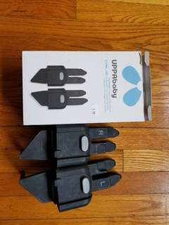 Uppababy peg perego adaptors. Authentic. Fits your peg perego car seat to both the
