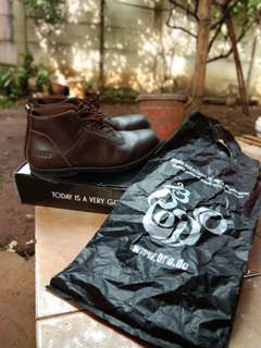 BRODO - Toraja Brown Black Sole size 44