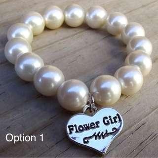Customise Personalise Team Bridesmaid Wedding Bracelet/Wedding Gift