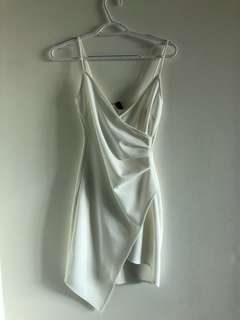 Brand new white going out dress