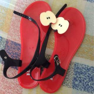 Plus size Jelly Summer Sandals