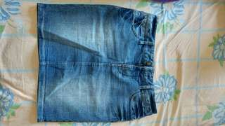 Denim skirt from Simons -size XS, used once