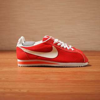Nike original classic cortez nylon red/white