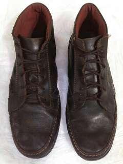 Sepatu kulit boots Watchout