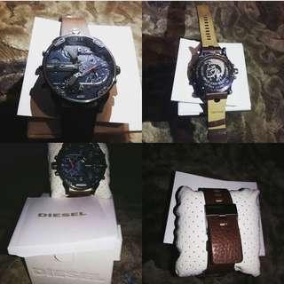 Di jual jam tangan ory garansi, belum pernah pakai Sama Sekali