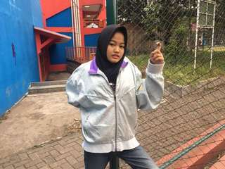 Champion Original Silver Purple Jacket