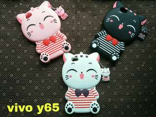 VIVO Y65 CASE BONEKA 3D