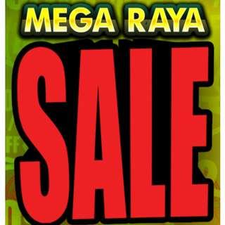 MEGA RAYA SALE !!!