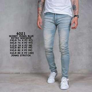 Skinny Jeans Blue Retro