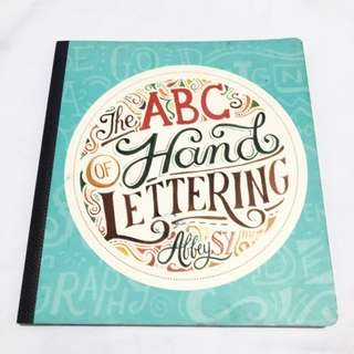 The ABC's of Hand Lettering by Abby Sy