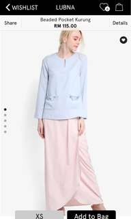 Lubna Beaded Pocket Kurung