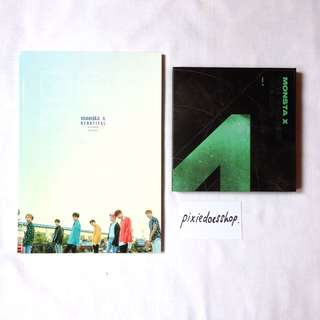 [WTS] MONSTA X PHOTOBOOK, ALBUM