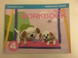 Yamaha Junior Music Course (Primary Workbook 4)