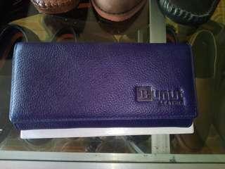 Dompet kulit jeruk Family Bunut Shoes