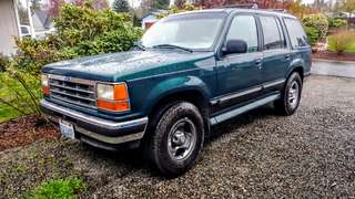 1994 FORD EXPLORER 4X4 TOW PACKAGE
