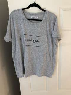 Assembly label T-shirt