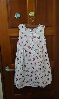 🚚 (降↓↓↓)NNIQLO日本古著店購入 櫻桃洋裝