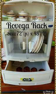 ROVEGA DISH DRAINER RACK