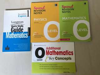 Revision guides Maths/Physics