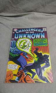 Silver Age DC Comics Challengers of the Unknown # 58