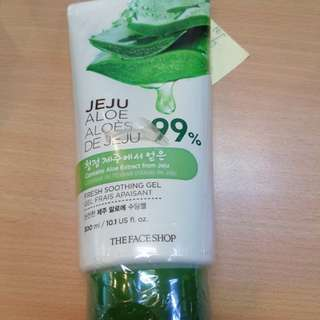 The Body Shop Jeju Aloe Soothing Gel