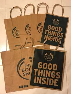The Body Shop Paper Bags
