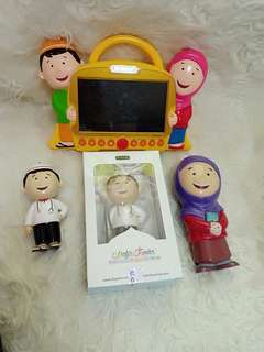 Hafiz junior talking doll