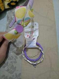 Bracelet and headband