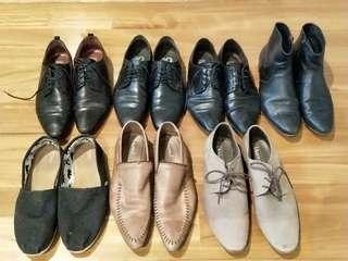 BULK men's Aquila + Tom's shoes