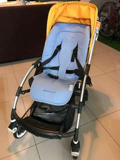 Bugaboo Bee stroller with lining