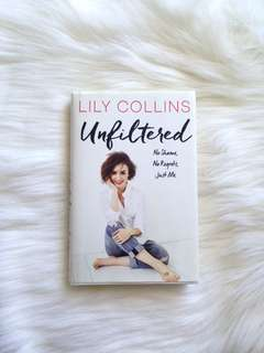 ❗️Unfiltered by Lily Collins