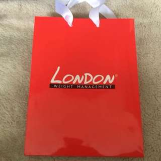 London Weight Management Paper Bag
