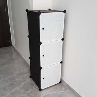 Brand New DIY Modular Storage Cubes (Black and White)